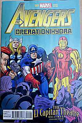 Avengers Operation Hydra 1 Giveaway Promo El Capitan Movie Theater Variant Thor