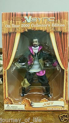 """NSync 2000 Collectors Edition Marionette Doll JOEY """"No Strings Attached"""" Tour"""