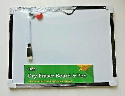 Shopping List Mini White Board Small A4 To Do Drawing Art Whiteboard Pen EraserO