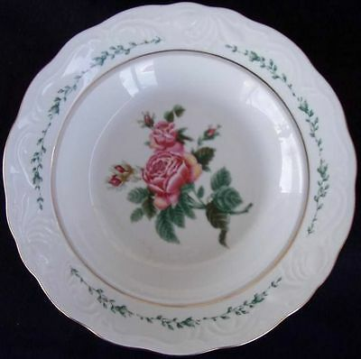 Gibson Housewares Victorian Rose Set Of 2 Soup/Cereal Bowls Unused Condition