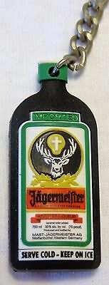 Jagermeister Key Chain - Mini Bottle - Rubber - Full Color - NEW