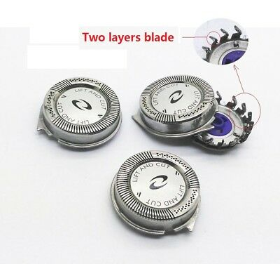 3x Shaver heads foils blade cutter for Philips AT899,AT897,AT896,AT894,AT892