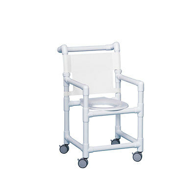 "Select Shower Chair 17"" Clearance White"