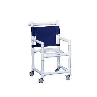 "Select Shower Chair 17"" Clearance Navy"