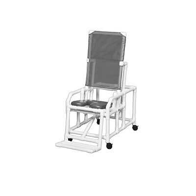 Standard Tilt Shower Chair Gray Seat