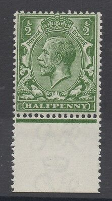 GV - N14(8) 1/2d yellow-green. Unlisted dp shade variety + RPS cert. Fine MNH.