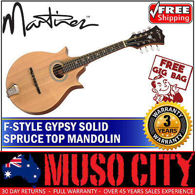 New Martinez Gypsy Mandolin with Deluxe Gig Bag