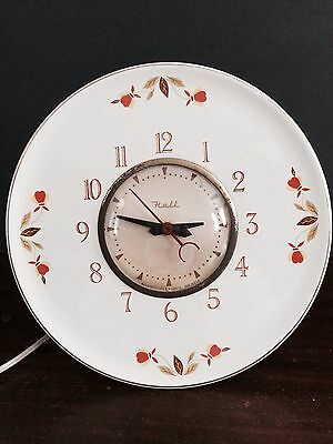 Autumn Leaf-Jewel Tea Electric Clock by Hall China 1956