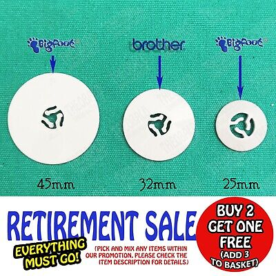 Spool/Thread/Cotton Cap/Disc/Holder/Stopper Fit Brother Sewing/Embroider Machine