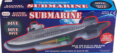 Submarine Bath Time Toy - Battery Operated