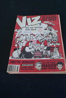 Viz Comic Issue No 33 big fat festive fun issueÂ….. Ripped front cover