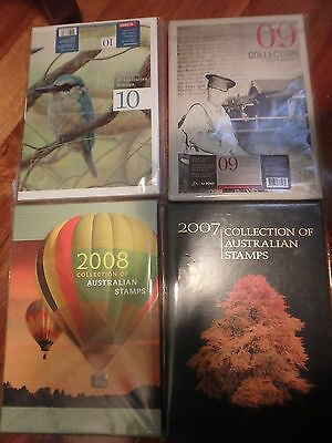 Australia Post Yearbook Album no stamps - price for one only choose year