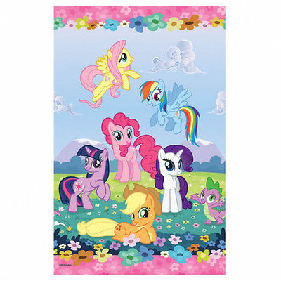 "54"" x 96"" Magic Pink My Little Pony Birthday Party Paper Table Cover"