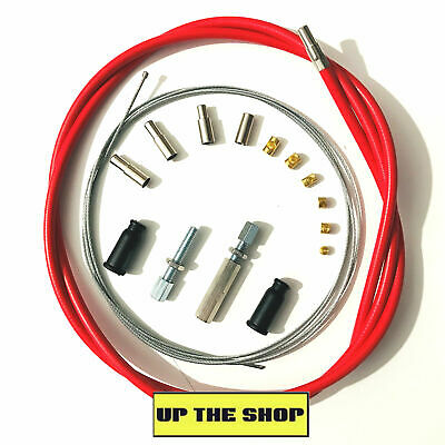 Venhill Universal Red Throttle Cable  MX, Enduro,Trials, Kit  U01-4-100