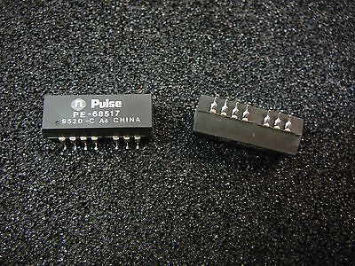 Pulse Pe-68517 Smd 10/100 Base-T Telecom Transformer **new** 2/pkg