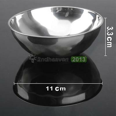 Kitchen Aid Kid Baby Safety Bowl Anti-Rust Stainless Steel Smooth Edge Resistant