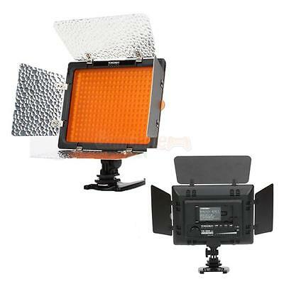 2 * New Yongnuo YN-300 LED Video Light Lamp for Sony Camera DV Camcorder