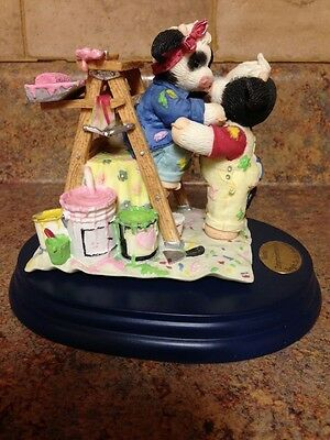 Mary Moo Moos Home Improvements Collectible Figurine 862894