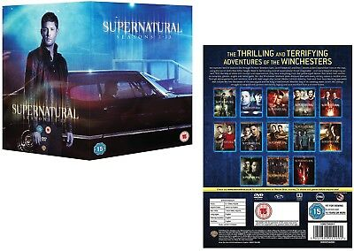 SUPERNATURAL 1-13 (2005-2018): Horror Demons TV Season Series -  Reg2 DVD not US
