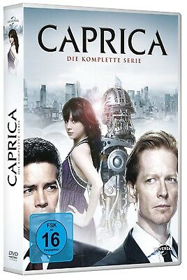 CAPRICA 1.0+1.5 2009-11 COMPLETE Series Battlestar Galactica EURO DVD in English
