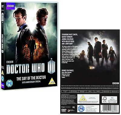 DR WHO 2013 THE DAY OF THE DOCTOR - 50th Anniversary Special  - NEW  Rg2 DVD