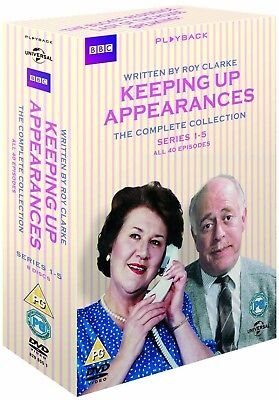KEEPING UP APPEARANCES (1990-1995) COMPLETE COMEDY Seasons Series R2 DVD not US