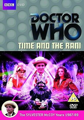 DR WHO 144 (1987) - TIME AND THE RANI - TV Doctor Sylvester McCoy R2 DVD not US