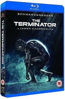 TERMINATOR 1 (1984), THE: Arnold Schwarzenegger T-800 Original NEW RgFre BLU-RAY