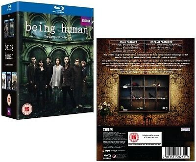 BEING HUMAN 1-5 (2009-2013): COMPLETE TV Seasons Series - NEW RgB BLU-RAY