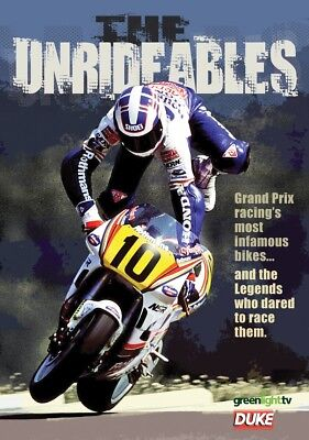 THE UNRIDEABLES (1980's) - 500cc MOTO GP Grand Prix Motorbikes MotoGP NEW DVD