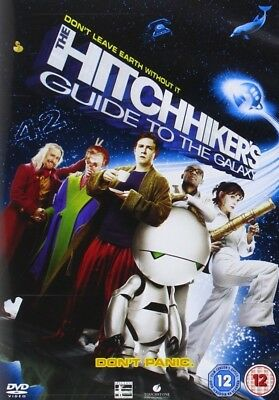 HITCHHIKER'S GUIDE TO THE GALAXY 2005 - Movie - Martin Freeman -  R2 DVD not US