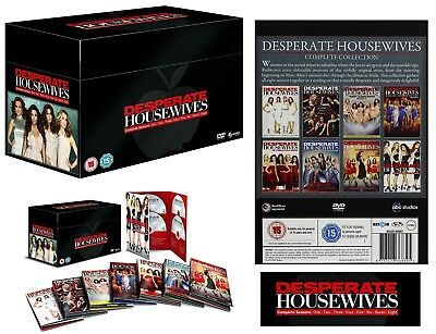 DESPERATE HOUSEWIVES 1-8 2004-2012: COMPLETE TV Series Seasons NEW R2 DVD not US