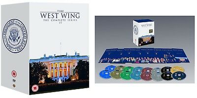 THE WEST WING 1-7 1999-2006 COMPLETE Presidential Drama TV Seasons R2 DVD not US