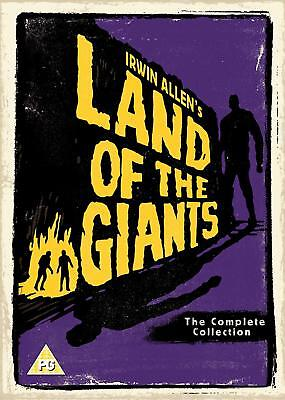 THE LAND OF THE GIANTS 1+2 (1968-1970) COMPLETE TV Series Season - R2 DVD not US