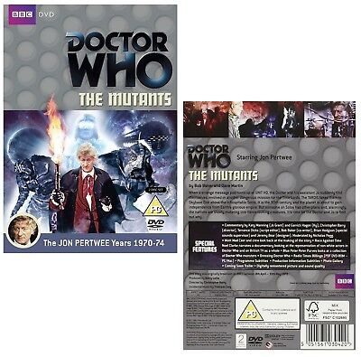 DR WHO 063 (1972) - THE MUTANTS - TV Doctor Jon Pertwee + Jo Grant - NEW R2 DVD