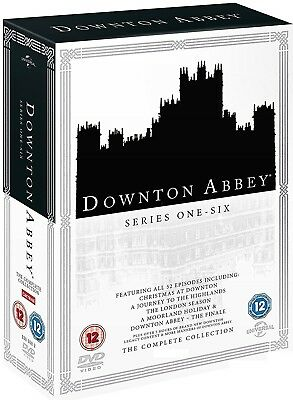 DOWNTON ABBEY 1-6 (2010-2015) COMPLETE Series Seasons+Christmas Specials R2 DVD