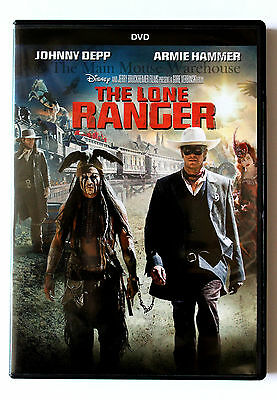 Disney Armie Hammer Johnny Depp The Lone Ranger on DVD English French Spanish