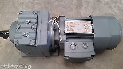 Sew eurodrive gearbox with brake motor  0.18kw 13rpm 105.28/1 ratio r37dr63m4br