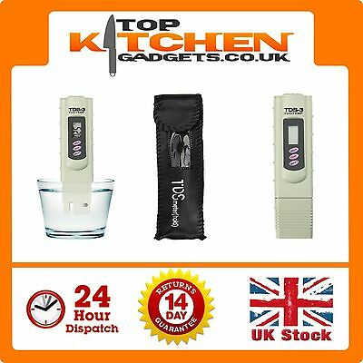 Digital TDS 3 Filter Meter Tester Pen ✰ Stick Water Quality Purity ✰ TEMP PPM ✰