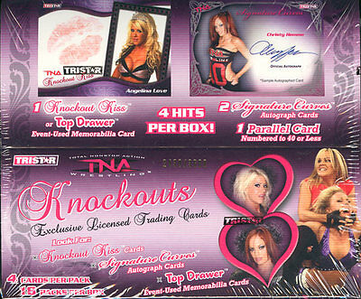 2009 Tristar Tna Knockouts Wrestling Box Blowout Cards