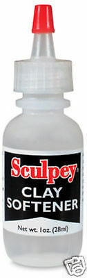 M00152 MOREZMORE Polyform Sculpey Diluent Polymer Clay Softener Smoothing Oil