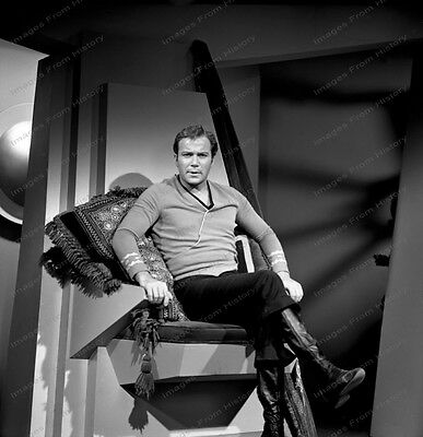 8x10 Print William Shatner Star Trek 1968 TV Series #1011667