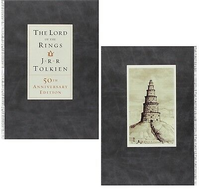 LORD OF THE RINGS - 50th ANNIVERSARY EDITION HARDCOVER BOOK - NEW (2004 Release)