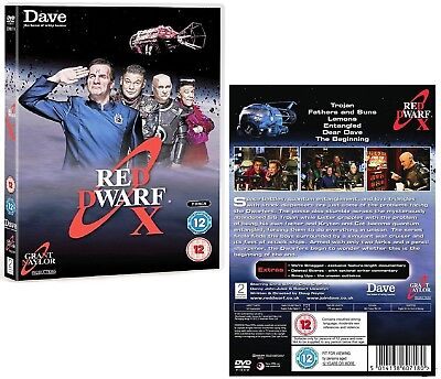 RED DWARF (2012): X - TV SERIES 10 - The Small Rouge One is Back R2/4 DVD not US
