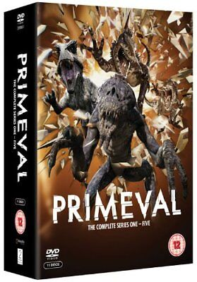 PRIMEVAL 1-5 (2007-2011): COMPLETE ITV SciFi TV Seasons Series NEW R2 DVD not US