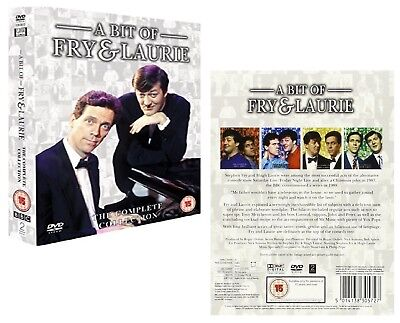 A BIT OF FRY AND LAURIE 1-4 (1989-1995) COMPLETE 4 TV Seasons Series NEW Rg2 DVD