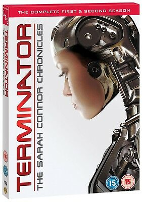 TERMINATOR: THE SARAH CONNOR CHRONICLES 1+2 2008 COMPLETE Series R2 DVD not US