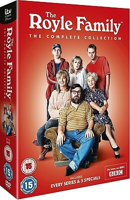 THE ROYLE FAMILY (1998-2012): COMPLETE Series + Christmas Specials R2 DVD not US