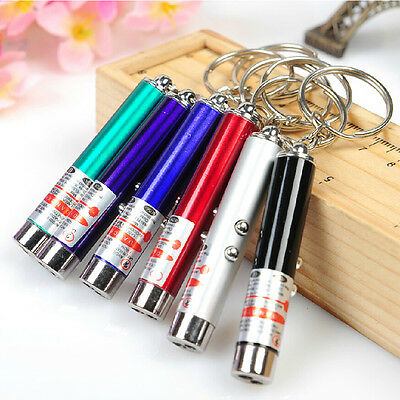 Portable Red Laser Pointer Pen LED Flashlight With Money Detector Function JD