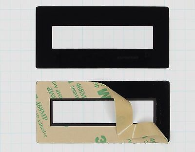Faceplate Mounting Bezel for 2x16 LCD Display (qty 1 Seetron FPL216)